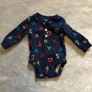 Alphabet Monster Bodysuit